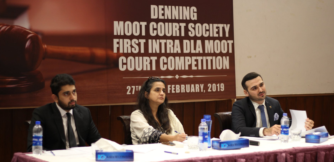 Intra DLS Moot Court Competition