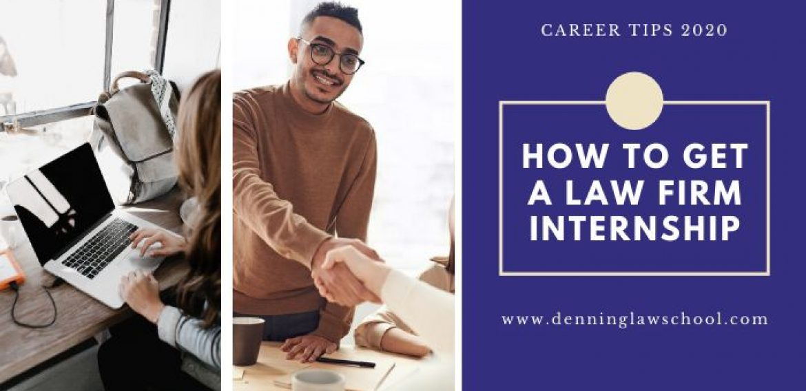 How to get a Law Firm Internship