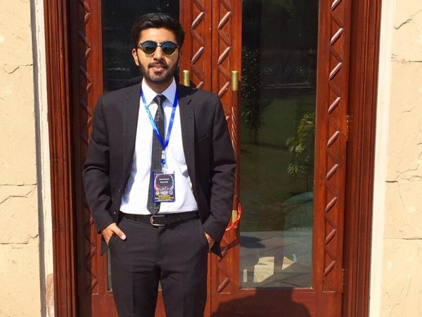Ahrar Jawaid Bhutto for being awarded as 'Second Best Oralist' at national rounds of Jessup 2020