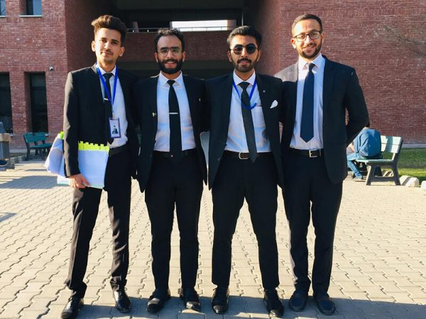 RUNNER UP position in the LUMS 3rd International Moot Competition