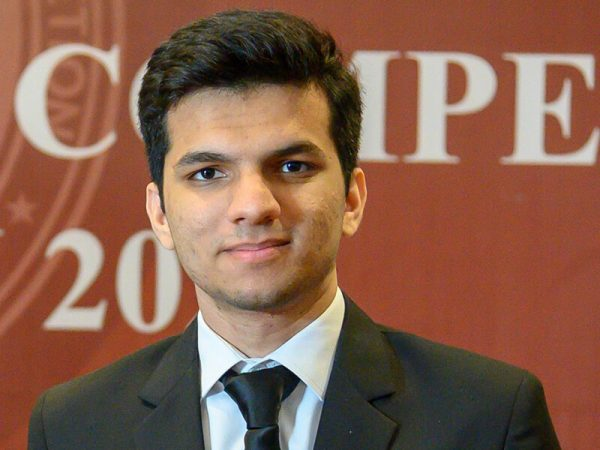 Usman Shiekh won the award of Best Oralist in Philip C. Jessup Competition 2021